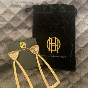BNNW- House Of Harlow Mesa Dior Knocker Earrings